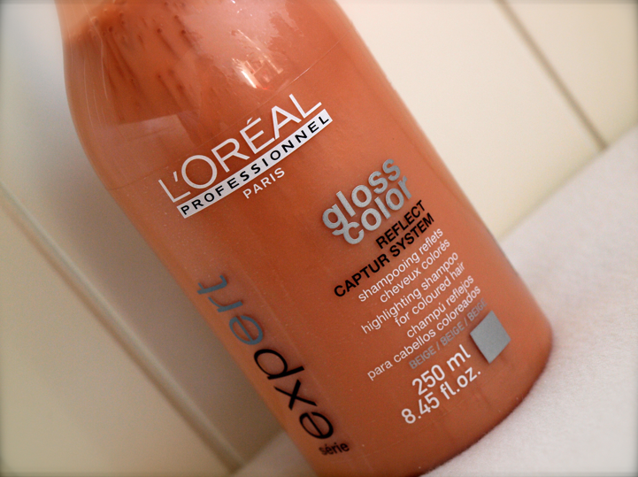 le shampoing color gloss de loral expert - L Oral Gloss Color