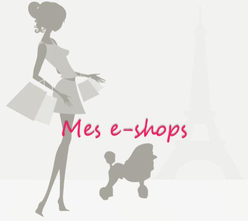 Mes e-shops