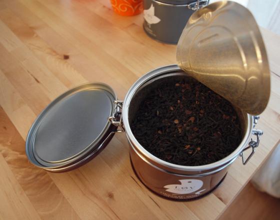 Thé vanille-chocolat LøvOrganic