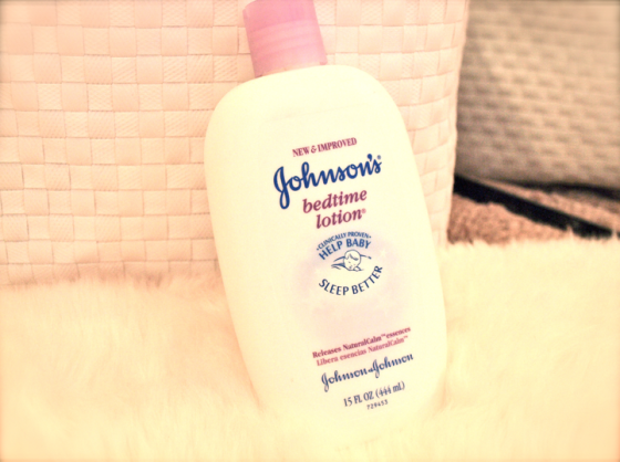 Bedtime lotion Johnson's