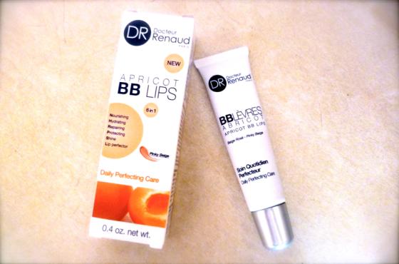 BB lèvres abricot Docteur Renaud