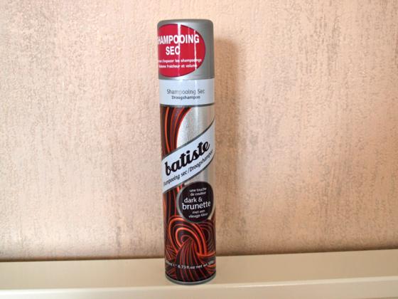Shampoing sec Batiste brune