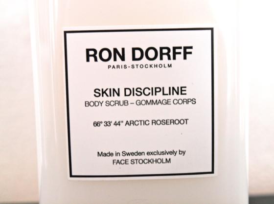Gommage Ron Dorff