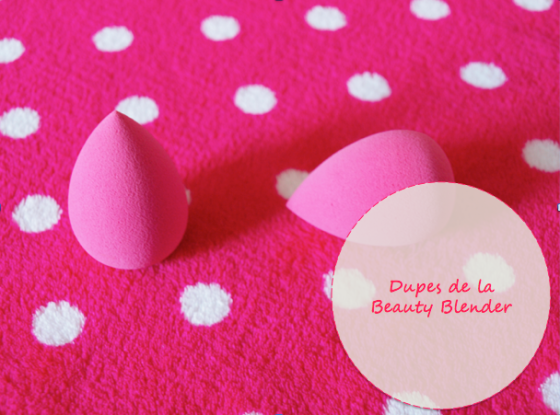 Dupes de la beauty blender
