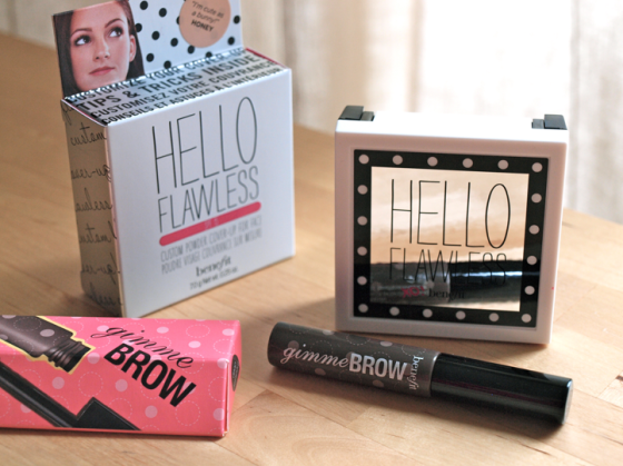 Hello Flawless & Gimme Brow Benefit Cosmetics