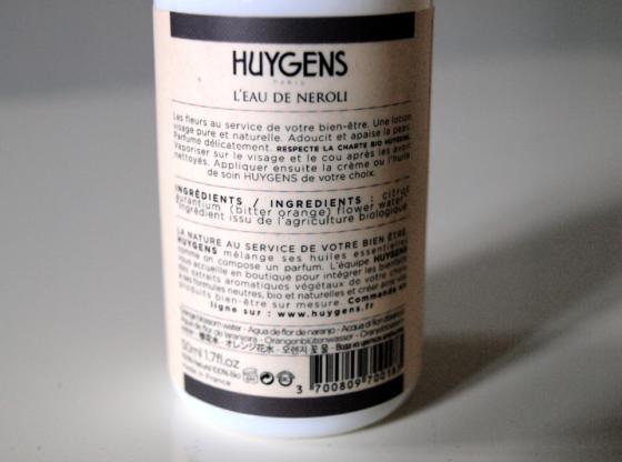 Huygens eau néroli et gommage corporel