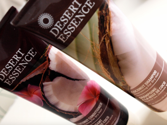 Desert Essence Coco Shampoo and Conditionner